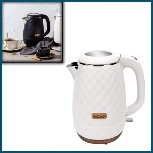 Aroma Professional AWK-3000 Surgical Grade 316 Stainless Steel Electric Water Kettle, 1,2L