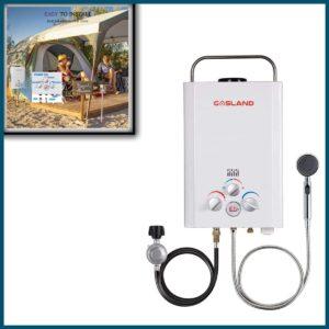 Gasland Portable Gas Water BMr. Heater Basecamp Shower Systemoiler