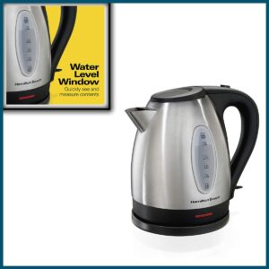Hamilton Beach Electric Tea Kettle, Water Boiler & Heater