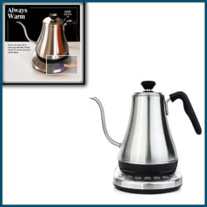 Gooseneck Electric Kettle with Temperature Control & Presets