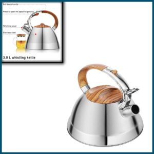 Kaisavilla Stovetop Whistling Tea Kettle