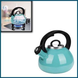 Whistling Tea Kettles, AIDEA 2.3 Quart Ceramic Tea Kettle for Stovetop Induction