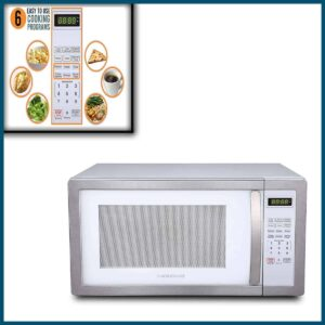Farberware 1000-Watt Microwave Oven with Toaster