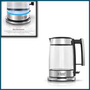 Russell Hobbs Glass 1.7L Electric Kettle