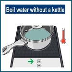 boil water without a kettle