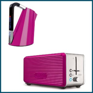 Best Hot Pink Kettle and Toaster