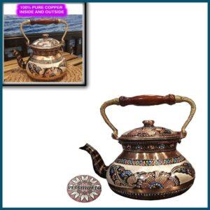 Vintage Turkish Tea Kettle