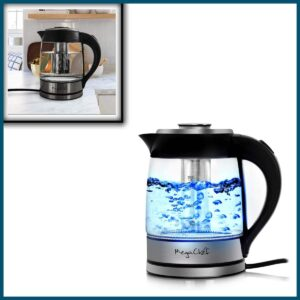 Megachef Electric Stainless Steel Kettle