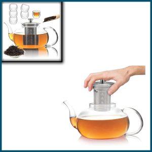 40 oz Glass Teapot