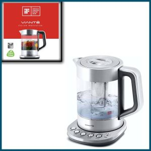 Electric Glass Kettle and Tea Maker 1.6L