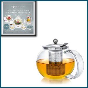 Tea bloom Stovetop Kettle
